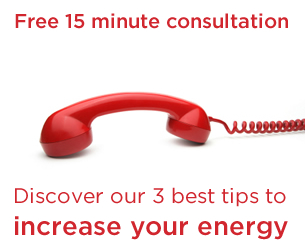 Increase your personal energy with a telephone consultation