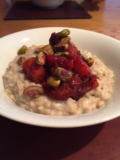 Festive Cranberry Porridge