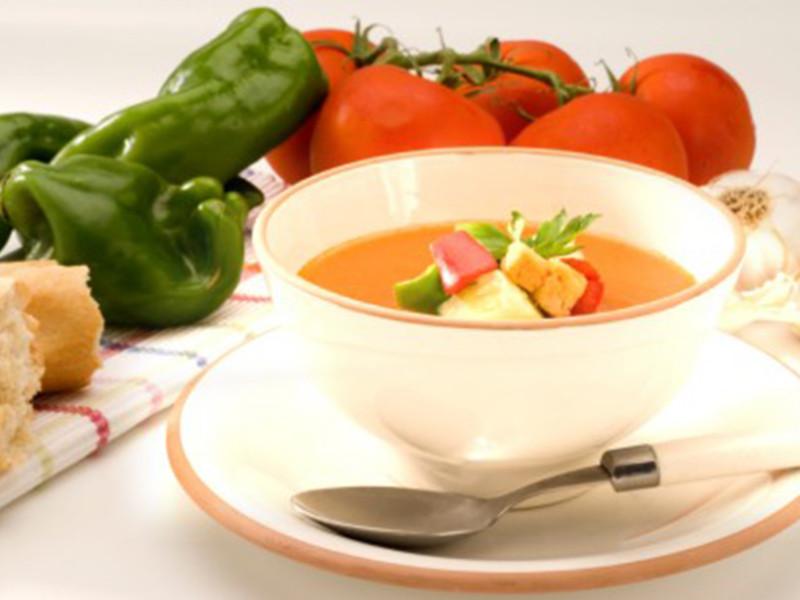 Champneys Gazpacho Soup