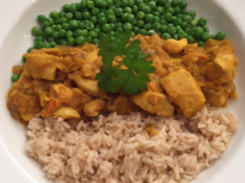 Chicken and Butternut Squash Curry