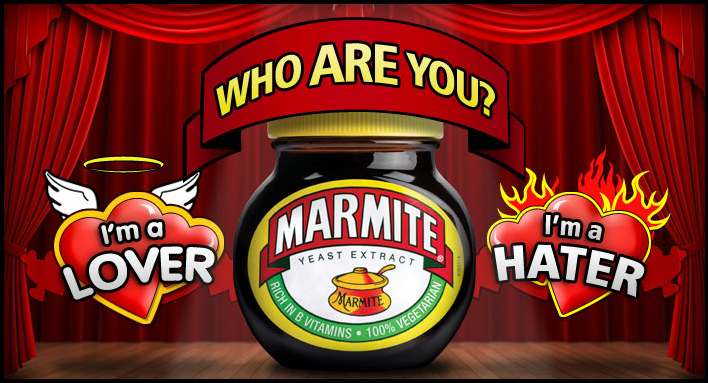 Marmite, love or hate it or maybe just quite like it?