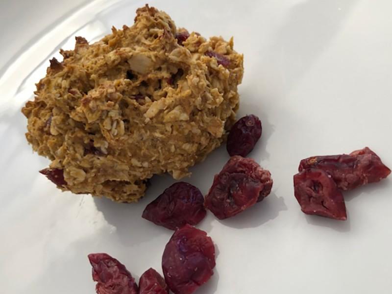 Vegan oaty muffins